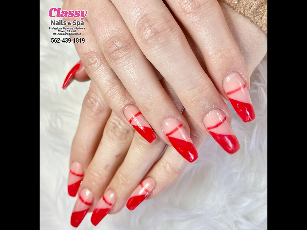 Let's visit and become prettier at Classy Nails & Spa